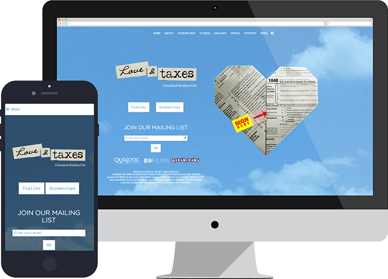 Luv and Tax Website